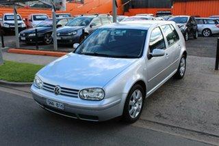 2003 Volkswagen Golf 2.0 Sport Silver 5 Speed Manual Hatchback.