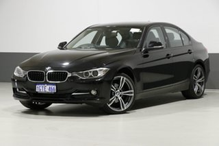 2015 BMW 316i F30 MY15 Sport Line Black 8 Speed Automatic Sedan.