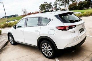 2018 Mazda CX-8 KG4W2A Asaki SKYACTIV-Drive i-ACTIV AWD Snowflake White Pearl 6 Speed.