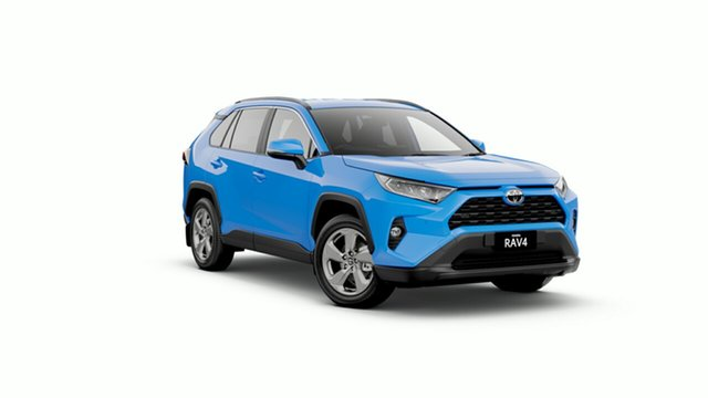New Toyota RAV4 Mxaa52R GXL 2WD, 2019 Toyota RAV4 Mxaa52R GXL 2WD Eclectic Blue 10 Speed Constant Variable Wagon