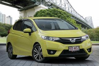 2015 Honda Jazz GF MY15 VTi-S Yellow 1 Speed Constant Variable Hatchback.