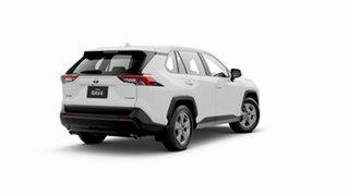 2019 Toyota RAV4 Axah52R GX 2WD Glacier White 6 Speed Constant Variable Wagon Hybrid.