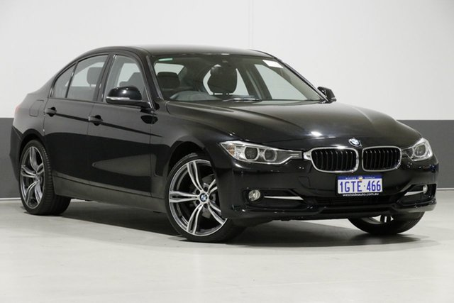 Used BMW 316i F30 MY15 Sport Line, 2015 BMW 316i F30 MY15 Sport Line Black 8 Speed Automatic Sedan