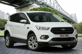2018 Ford Escape ZG 2018.75MY Ambiente 2WD White 6 Speed Sports Automatic Wagon.