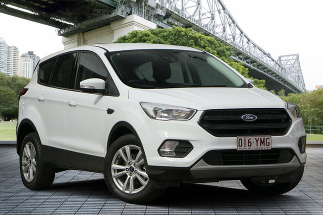Used Ford Escape ZG 2018.75MY Ambiente 2WD, 2018 Ford Escape ZG 2018.75MY Ambiente 2WD White 6 Speed Sports Automatic Wagon
