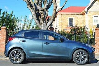 2016 Mazda 2 DJ2HA6 Genki SKYACTIV-MT Grey 6 Speed Manual Hatchback.