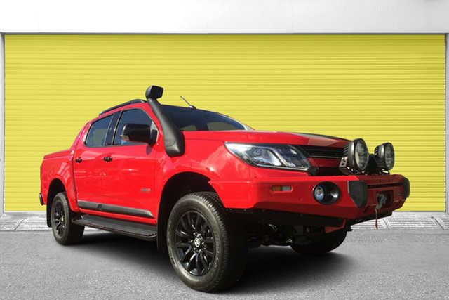 Used Holden Colorado RG MY18 Z71 Pickup Crew Cab, 2017 Holden Colorado RG MY18 Z71 Pickup Crew Cab Red 6 Speed Sports Automatic Utility