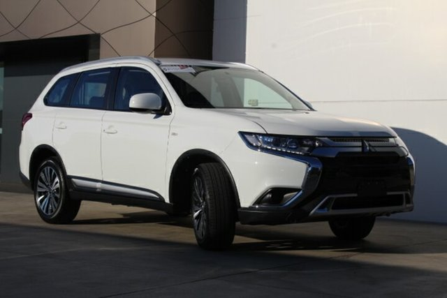 New Mitsubishi Outlander ZL MY19 ES 2WD, 2019 Mitsubishi Outlander ZL MY19 ES 2WD White 6 Speed Constant Variable Wagon