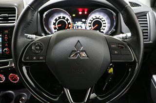 2017 Mitsubishi ASX XC MY17 LS (2WD) Silver Continuous Variable Wagon