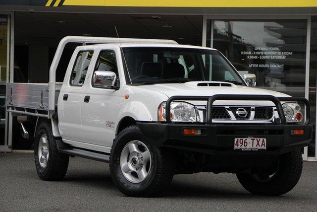 Used Nissan Navara D22 S5 ST-R, 2014 Nissan Navara D22 S5 ST-R White 5 Speed Manual Utility