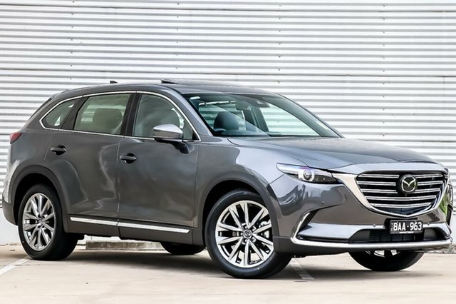 Demo Mazda CX-9 TC Azami SKYACTIV-Drive, 2019 Mazda CX-9 TC Azami SKYACTIV-Drive Machine Grey 6 Speed Sports Automatic Wagon