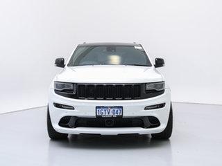 2014 Jeep Grand Cherokee WK MY15 SRT 8 (4x4) White 8 Speed Automatic Wagon.
