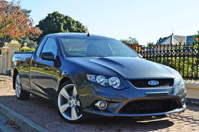 Used Ford Falcon FG XR8 Ute Super Cab, 2009 Ford Falcon FG XR8 Ute Super Cab Grey 6 Speed Sports Automatic Utility