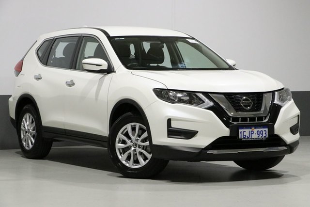 Used Nissan X-Trail T32 ST 7 Seat (FWD), 2017 Nissan X-Trail T32 ST 7 Seat (FWD) White Continuous Variable Wagon