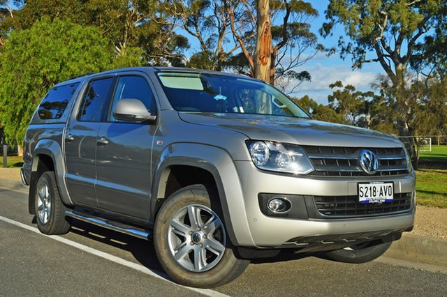 Used Volkswagen Amarok 2H MY13 TDI420 4Motion Perm Highline, 2012 Volkswagen Amarok 2H MY13 TDI420 4Motion Perm Highline Gold 8 Speed Automatic Utility