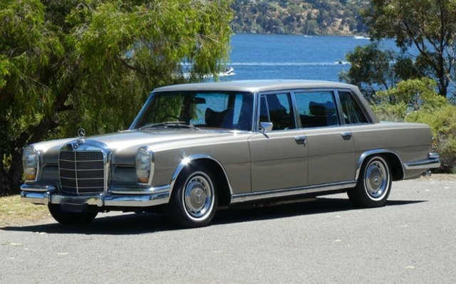 Used Mercedes-Benz 600 W100 Grand LWB, 1971 Mercedes-Benz 600 W100 Grand LWB Champagne 4 Speed Automatic Sedan