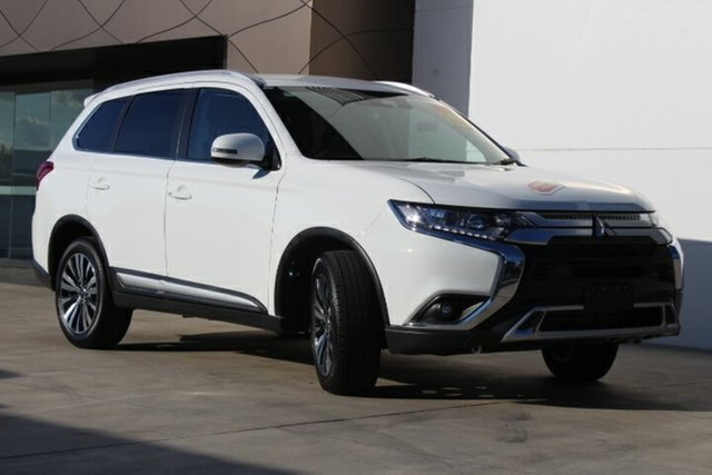 New Mitsubishi Outlander ZL MY19 LS AWD, 2018 Mitsubishi Outlander ZL MY19 LS AWD White 6 Speed Sports Automatic Wagon