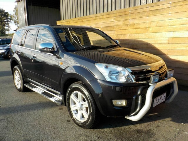 Used Great Wall X240 CC6460KY , 2010 Great Wall X240 CC6460KY Black 5 Speed Manual Wagon