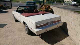 1982 Chrysler LE Baron Cream Automatic Convertible