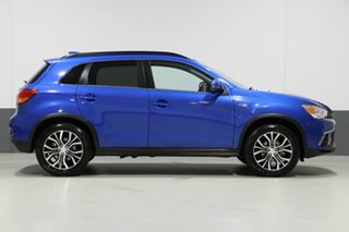 2018 Mitsubishi ASX XC MY18 LS (2WD) Blue Continuous Variable Wagon