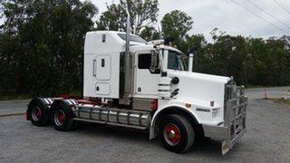 2009 Kenworth T658 White Prime Mover.