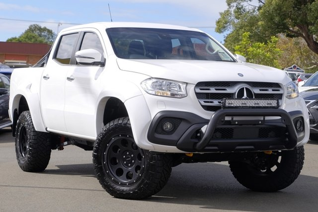 Used Mercedes-Benz X-Class 470 X250d 4MATIC Progressive, 2017 Mercedes-Benz X-Class 470 X250d 4MATIC Progressive White 7 Speed Sports Automatic Utility