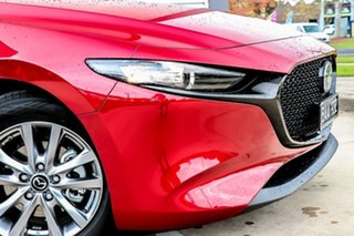 2019 Mazda 3 BP2H7A G20 SKYACTIV-Drive Pure Soul Red Crystal 6 Speed Sports Automatic Hatchback