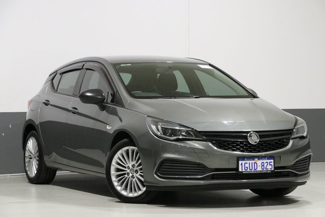 Used Holden Astra BK MY17 R, 2017 Holden Astra BK MY17 R Grey 6 Speed Automatic Hatchback