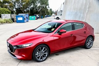 2019 Mazda 3 BP2HLA G25 SKYACTIV-Drive GT Soul Red Crystal 6 Speed Sports Automatic Hatchback