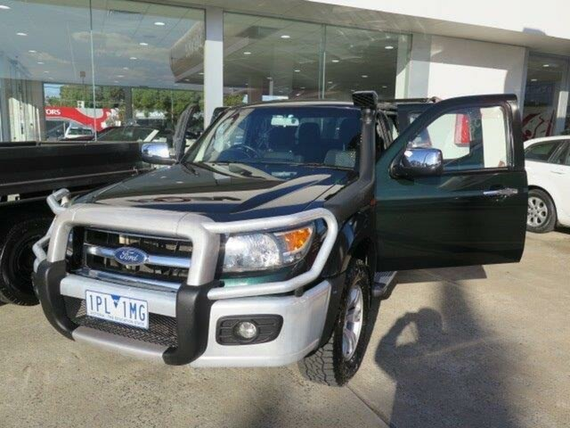 Used Ford Ranger PK XLT Crew Cab, 2010 Ford Ranger PK XLT Crew Cab Grey 5 Speed Automatic Utility