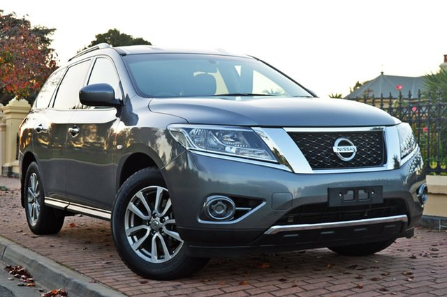 Used Nissan Pathfinder R52 MY15 ST X-tronic 2WD, 2015 Nissan Pathfinder R52 MY15 ST X-tronic 2WD Grey 1 Speed Constant Variable Wagon