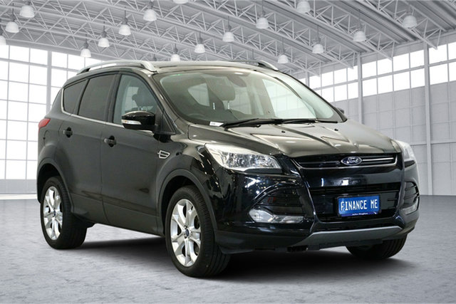 Used Ford Kuga TF Trend AWD, 2014 Ford Kuga TF Trend AWD Black 6 Speed Sports Automatic Wagon