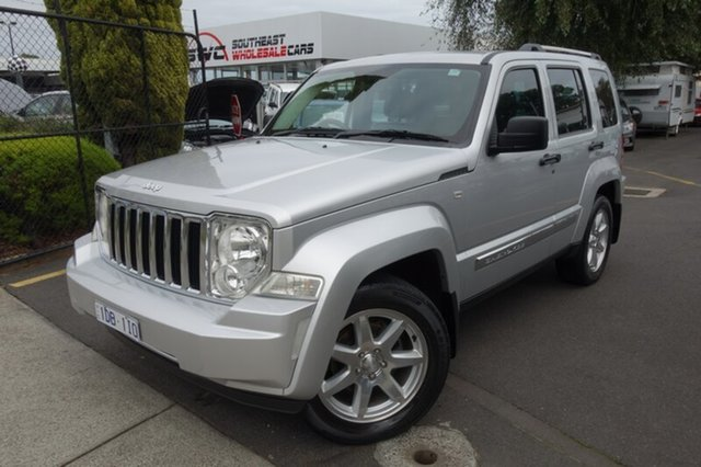 Used Jeep Cherokee KK MY12 Limited, 2012 Jeep Cherokee KK MY12 Limited Silver 5 Speed Sports Automatic Wagon