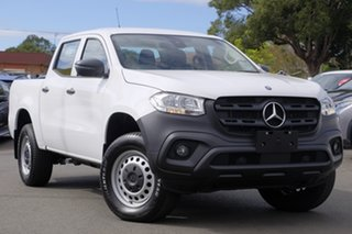 2018 Mercedes-Benz X-Class 470 X220d 2WD Pure White 6 Speed Manual Utility.