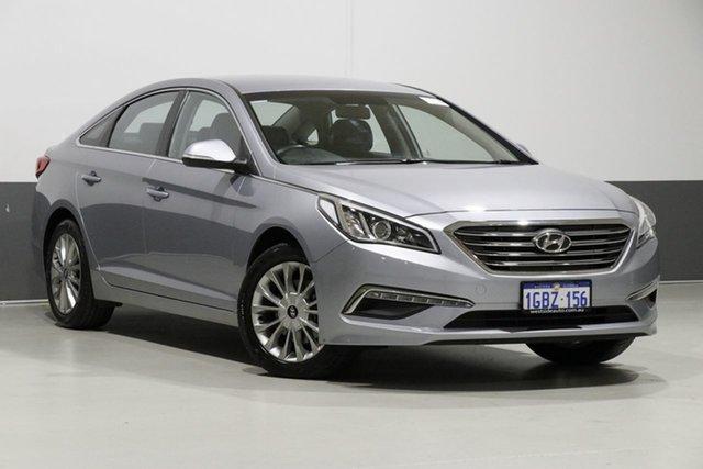 Used Hyundai Sonata LF3 MY17 Active, 2016 Hyundai Sonata LF3 MY17 Active Silver 6 Speed Automatic Sedan