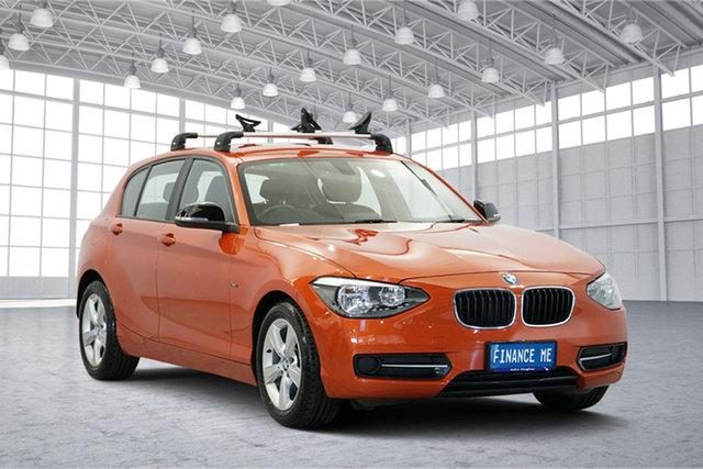 Used BMW 116i F20 , 2012 BMW 116i F20 Orange 6 Speed Manual Hatchback