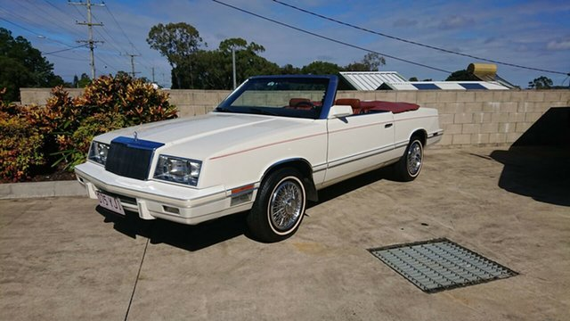 Used Chrysler LE Baron  , 1982 Chrysler LE Baron Cream Automatic Convertible