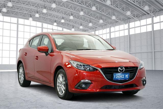 Used Mazda 3 BM5478 Touring SKYACTIV-Drive, 2015 Mazda 3 BM5478 Touring SKYACTIV-Drive Red 6 Speed Sports Automatic Hatchback