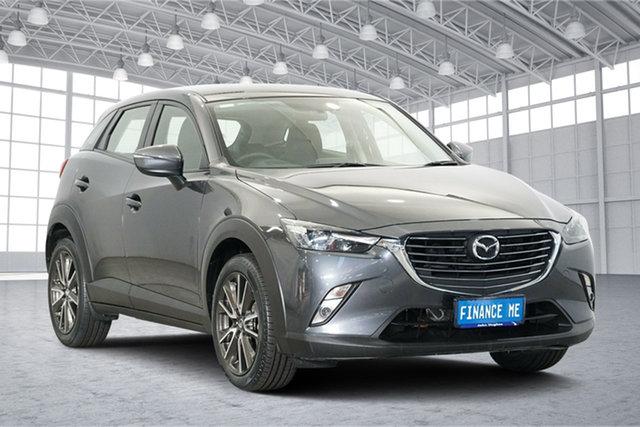 Used Mazda CX-3 DK4WSA sTouring SKYACTIV-Drive i-ACTIV AWD, 2015 Mazda CX-3 DK4WSA sTouring SKYACTIV-Drive i-ACTIV AWD Grey 6 Speed Sports Automatic Wagon