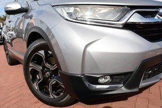 2018 Honda CR-V RW MY18 VTi-L FWD Lunar Silver 1 Speed Constant Variable Wagon.