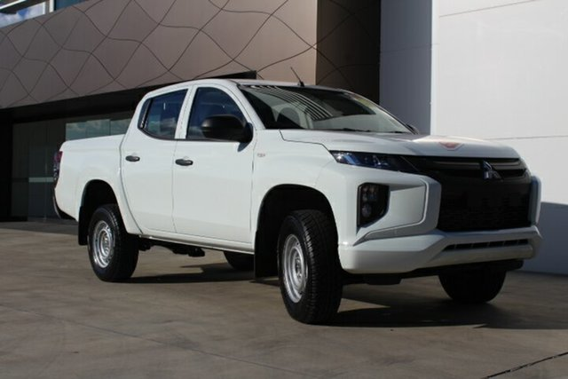 New Mitsubishi Triton MR MY19 GLX, 2018 Mitsubishi Triton MR MY19 GLX White 6 Speed Automatic