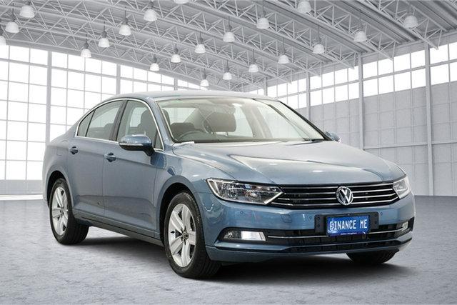 Used Volkswagen Passat 3C (B8) MY16 132TSI DSG Comfortline, 2015 Volkswagen Passat 3C (B8) MY16 132TSI DSG Comfortline Blue 7 Speed Sports Automatic Dual Clutch
