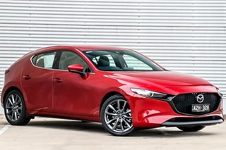 2019 Mazda 3 BP2HLA G25 SKYACTIV-Drive GT Soul Red Crystal 6 Speed Sports Automatic Hatchback.