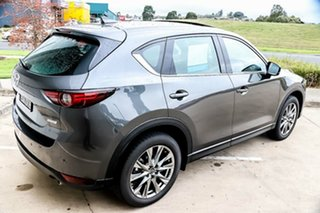 2019 Mazda CX-5 KF4WLA Akera SKYACTIV-Drive i-ACTIV AWD Machine Grey 6 Speed Sports Automatic Wagon