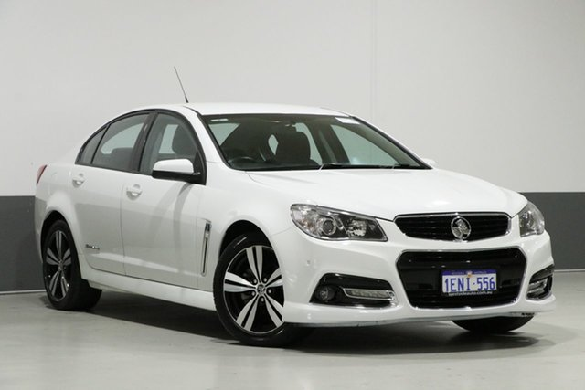 Used Holden Commodore VF SV6 Storm, 2014 Holden Commodore VF SV6 Storm White 6 Speed Automatic Sedan