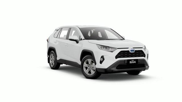New Toyota RAV4 Axah52R GX 2WD Oakleigh, 2019 Toyota RAV4 Axah52R GX 2WD Glacier White 6 Speed Constant Variable Wagon Hybrid