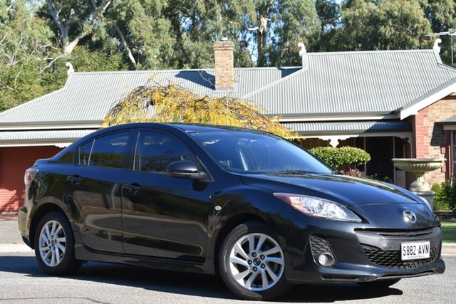 Used Mazda 3 BM5276 Maxx SKYACTIV-MT, 2013 Mazda 3 BM5276 Maxx SKYACTIV-MT Black 6 Speed Manual Sedan