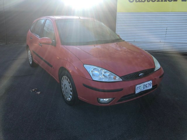 Used Ford Focus LR MY2003 CL, 2004 Ford Focus LR MY2003 CL Red 5 Speed Manual Hatchback