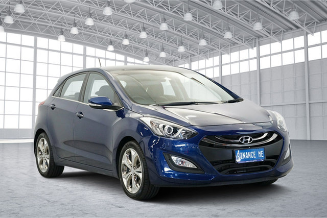 Used Hyundai i30 GD Premium, 2012 Hyundai i30 GD Premium Blue 6 Speed Sports Automatic Hatchback