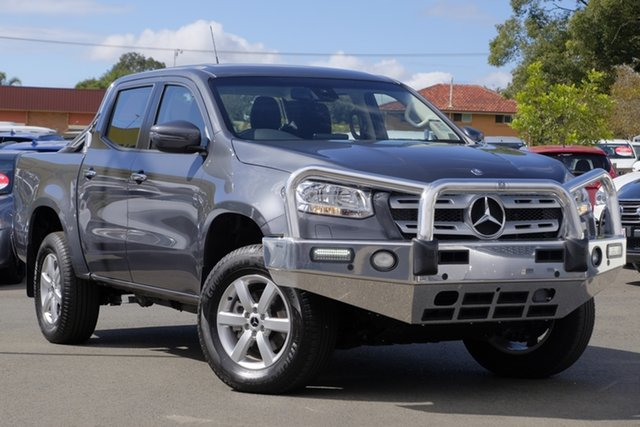 Used Mercedes-Benz X-Class 470 X250d 4MATIC Progressive, 2018 Mercedes-Benz X-Class 470 X250d 4MATIC Progressive Grey 6 Speed Manual Utility